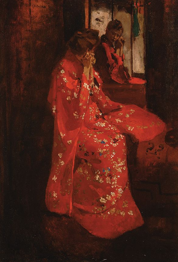 George Hendrik Breitner; (Dutch Impressionist Painter and Photographer 1857-1923) c. 1895