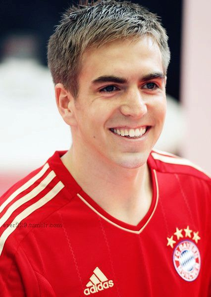 Philipp Lahm, left winger for Germany and Bayern Munchen!