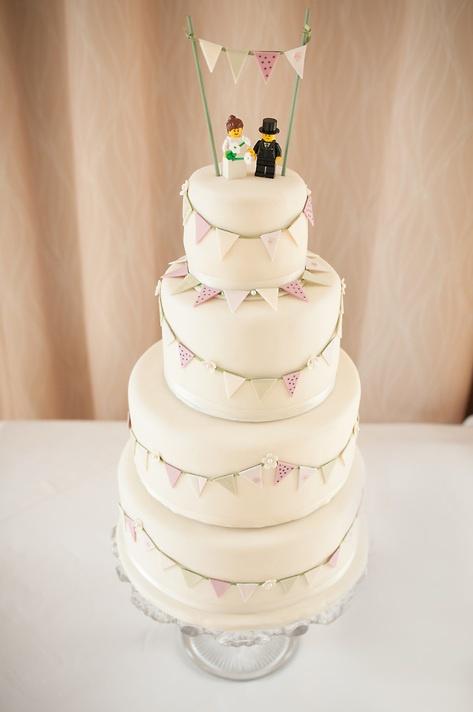 Wedding Cake at Worsall Village Hall, Stockton on Tees