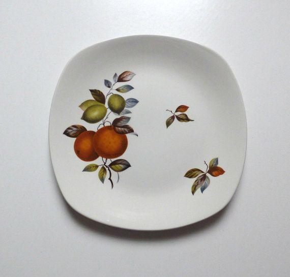 Vintage Midwinter Large Plate Oranges & Lemons Stylecraft