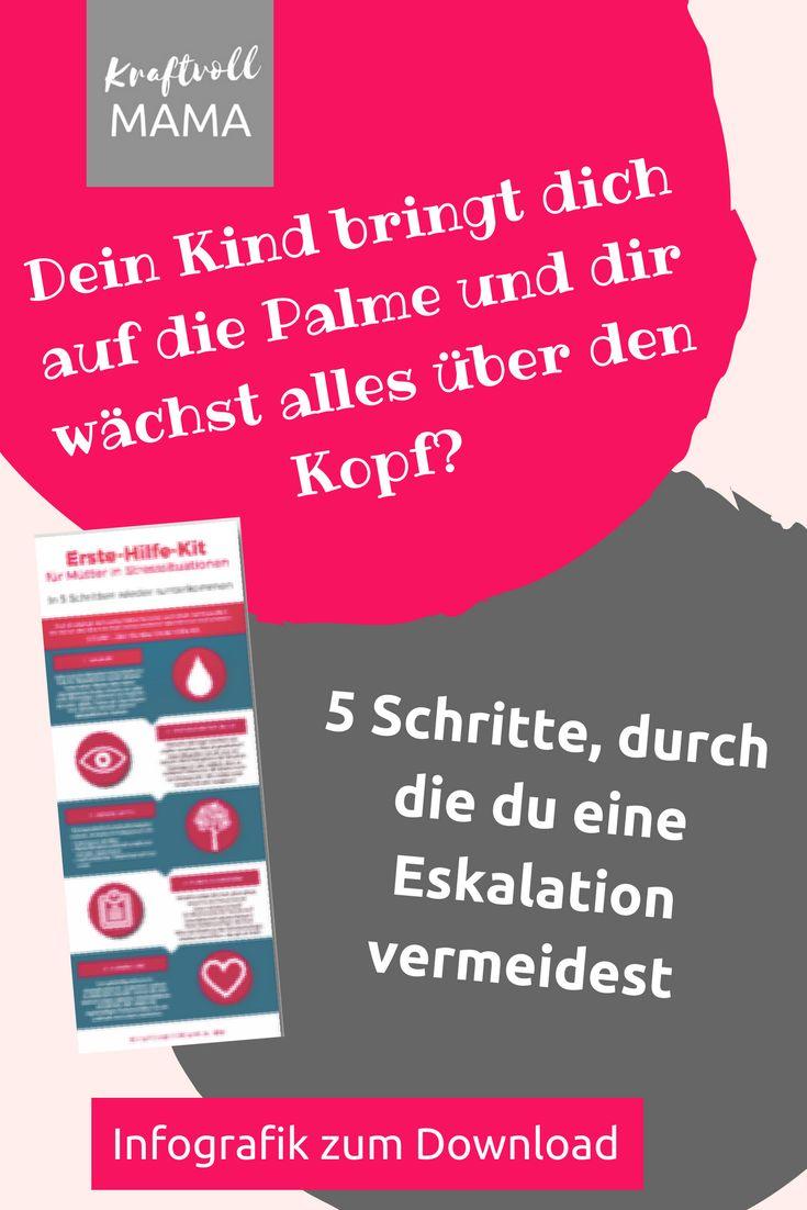 Hol dir das Erste-Hilfe-Kit für Mütter in Stresssituationen!