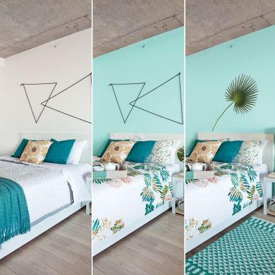 Chambre relookée selon 3 budgets: 100$, 350$ et 500$ - Chambre - Avant après - Décoration et rénovation - Pratico Pratique