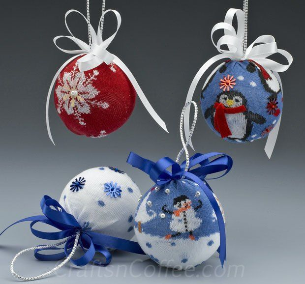 999 Best Images About Christmas Ornaments On Pinterest