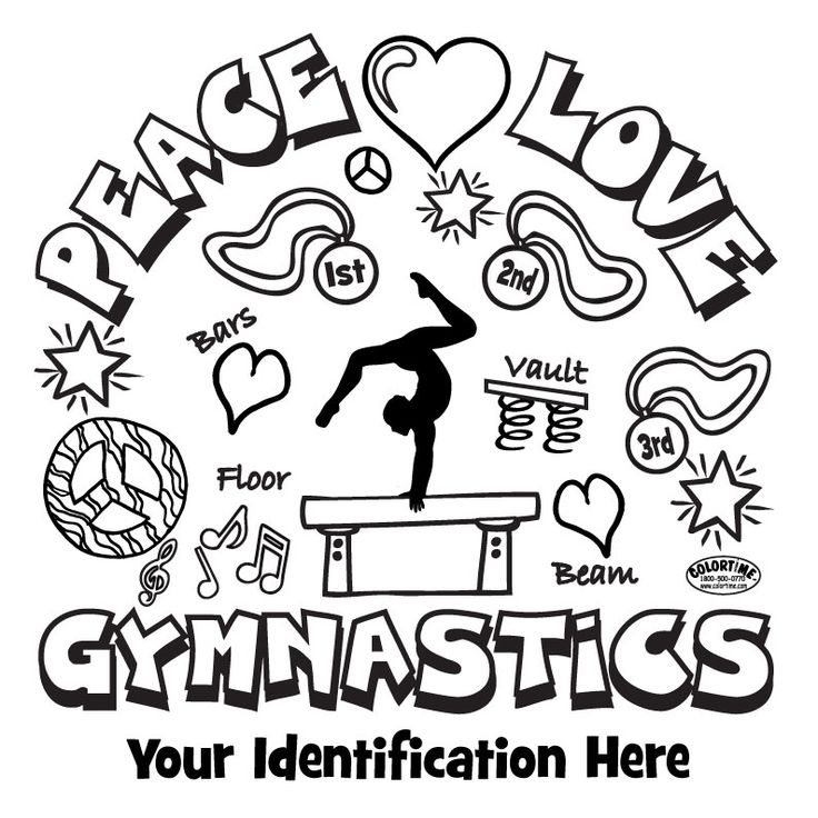 GYMNASTICS COLORING PAGES | Coloringpages321.com ...