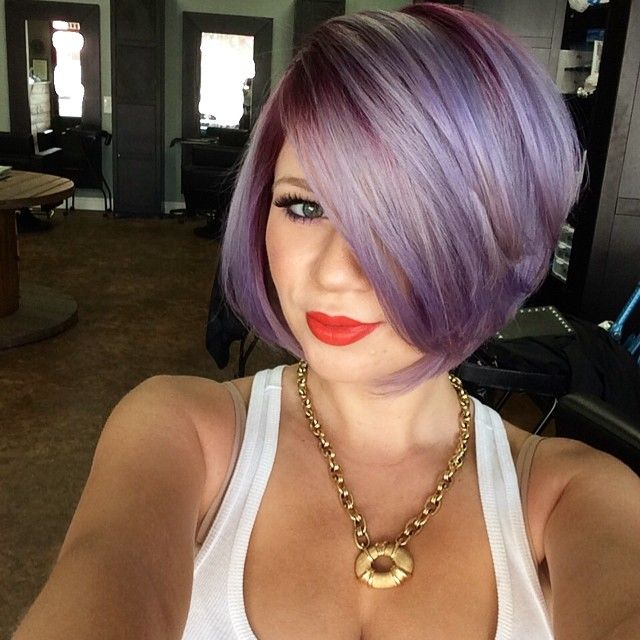 Something about this hair color that I like.