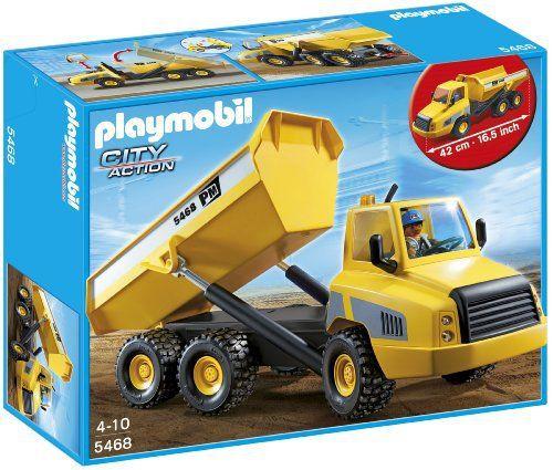 Playmobil – 5468 – Figurine – Grand Camion À Benne Basculante: Price:29.99Jean, le conducteur du grand camion, part vers le chantier.…