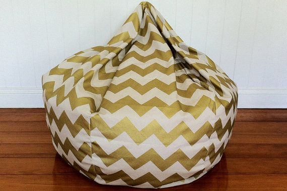 Funky Bean Bags Online In Metallic Gold At Choosyau