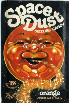 Space Dust, 1970s, the Original 'pop-rocks'. I loved this stuff!
