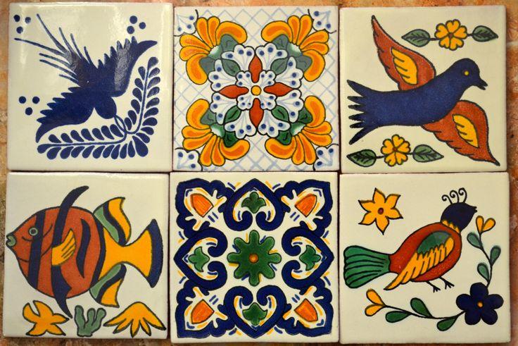 Azulejos Para Baño Pintados A Mano:de 1000 ideas sobre Azulejos Mexicanos en Pinterest
