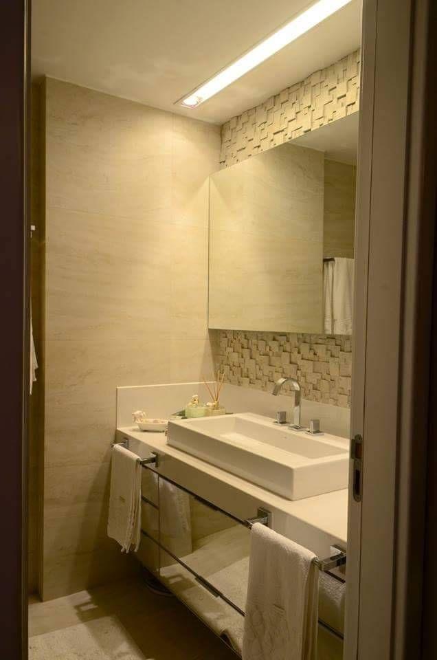 Banheiro Casal (De Giovana Martins Arquitetura & Interiores)