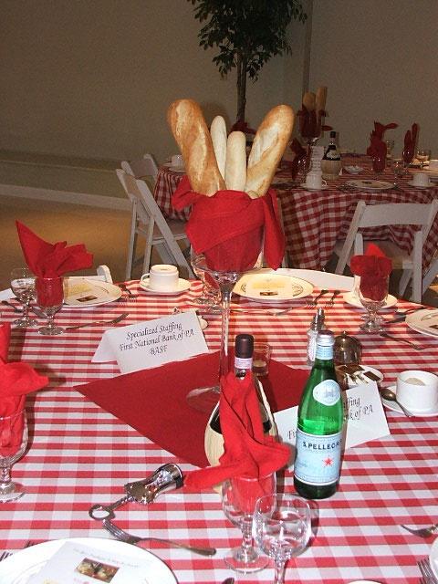 Italian Theme Party at @Matt Nickles Valk Chuah Atrium