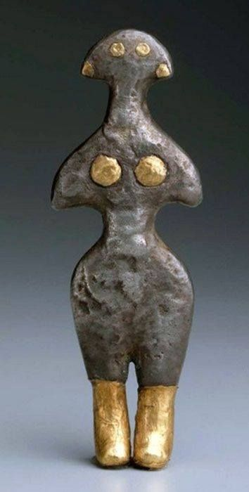 Figurine of Goddess from Anatolia, early Bronze Age, circa 2500–2300 BCE