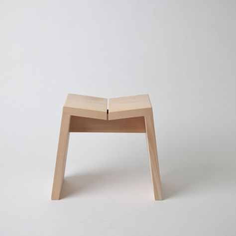 Hinoki Wood Stools: Remodelista. Really like this & I'm going to make  some myself but for the garden. These are Japanese bath stools made of a water resistant Cedarwood. The tops are angeled toward the center so the water runs off faster to ensure the stools dry quicker. Clever those Japanese ;)