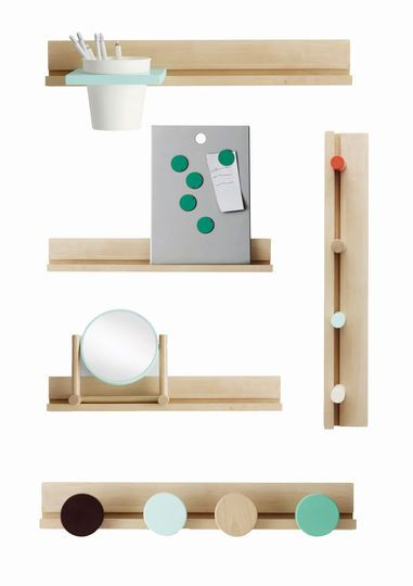 Des rails muraux à agrémenter d'éléments interchangeables - Nouveautés Ikea PS : allez-vous craquer ? - CôtéMaison.fr