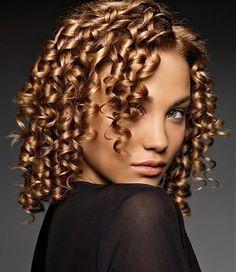 how to get tight ringlet curls