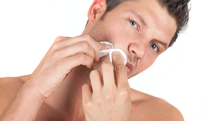 Pop Pimples With Tissues