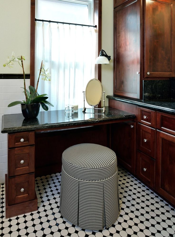 BEFORE U0026 AFTER: This Vintage Inspired Master Bathroom Is An Instant Classic!