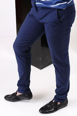 Detayları Göster Klasik Cep Mavi Pantolon