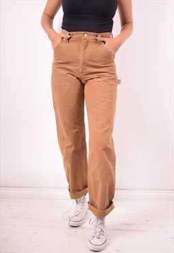 6fbc8a65 Carhartt Womens Vintage Jeans W28 L33 Brown 90s | fitted | Vintage ...