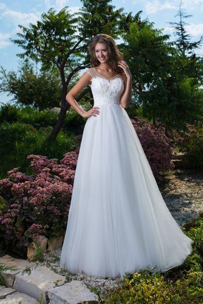 Svadobné šaty pre tehulky