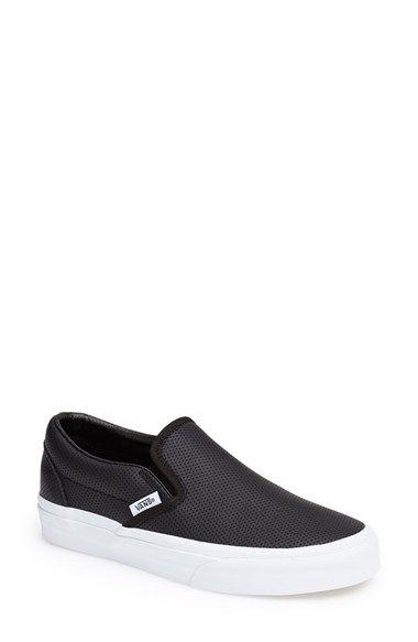Nordstrom Perforated Slip on sneaker