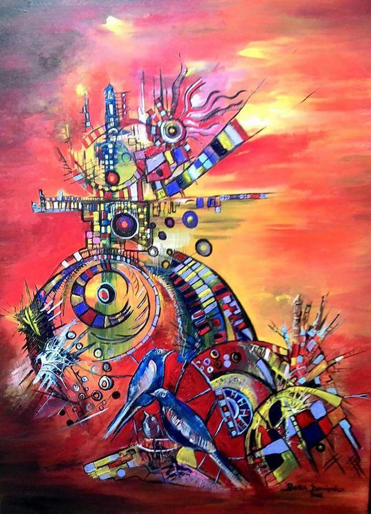 Kuş Rüyası - 47 / Bird Dream - 47 #Tuval üzerine #Akrilik / #Acryliconcanvas 60cm x 80cm 5.800₺ / 1.600$  #gallerymak #sanat #ig_sanat #resim #tablo #sergi #ressam #resimsergisi #sanateseri #cagdassanat #modernsanat boradervisoglu #kuş #kübizm #kubizm #bird #cubism #cubist #artgallery #contemporaryart #painting #artlovers #artcollectors #acrylicpainting #masterpiece