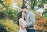 This Fall Engagement Shoot in Central Park Is Too Adorable to Handle
