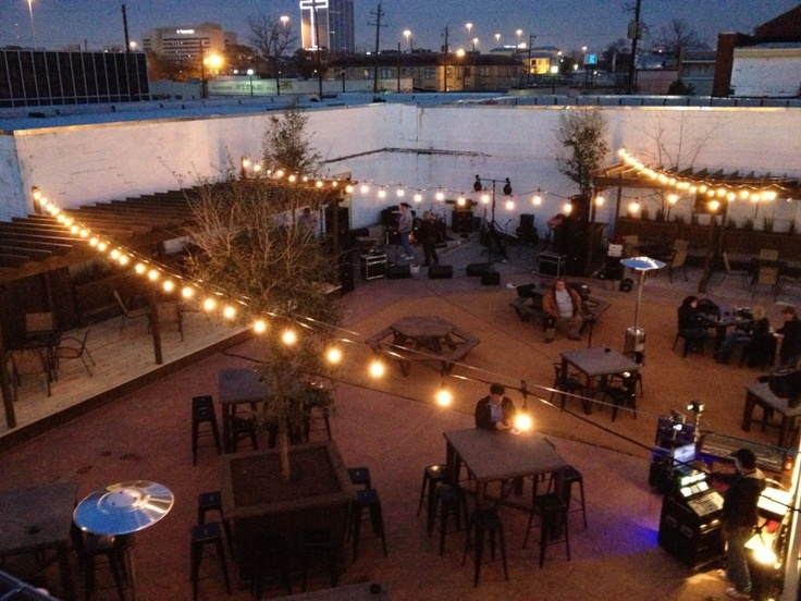 Awesome New Patio Bar Aims To Create A Walkable Houston Neighborhood U2014 And Food  Truck Haven