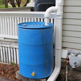 Rain Barrel and Diverter | Our Cottage | Pinterest