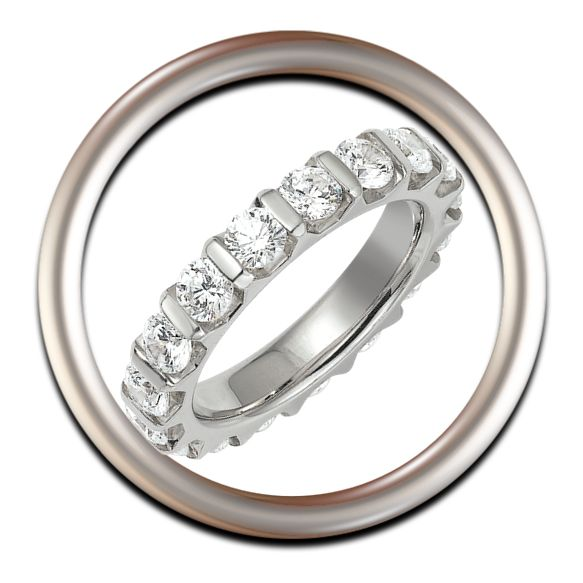 Los diamantes simbolizan fidelidad, son las piedras perfectas para una boda inolvidable.