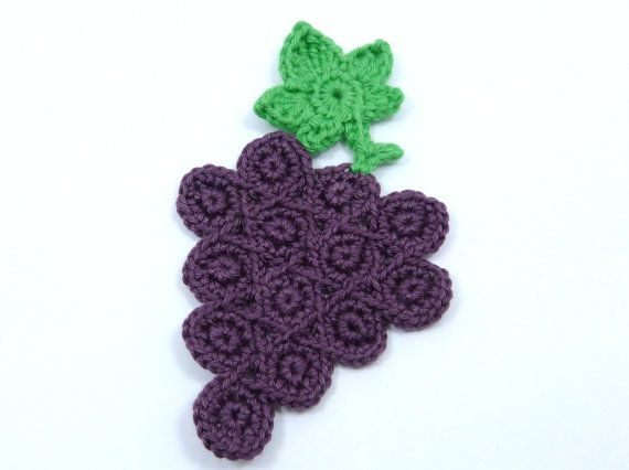 Crochet applique 1 bunch of crochet applique by MyfanwysAppliques