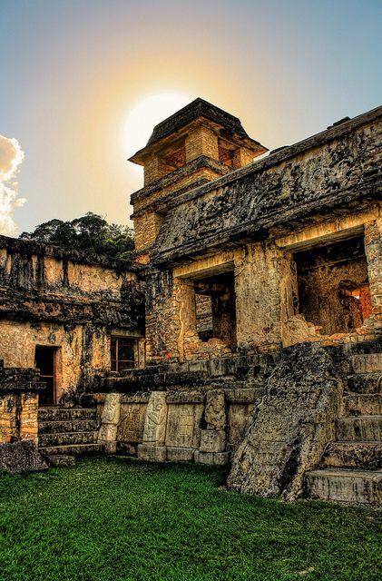 Palenque Mexico [ MexicanConnexionForTile.com ] #culture #Talavera #handmade