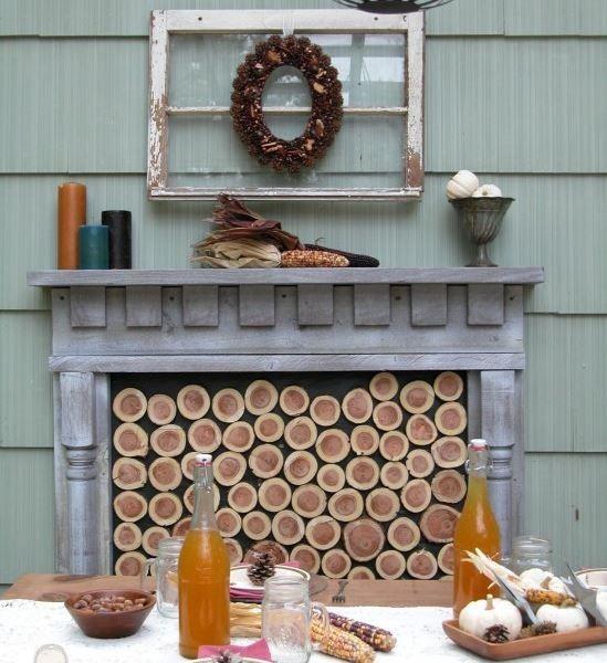 DIY: Φτιάξτε διακοσμητικό τζάκι που μοιάζει αληθινό!