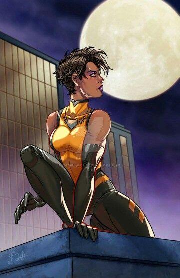 Vixen (Mari Jiwe McCabe) - Liga da Justiça Internacional.