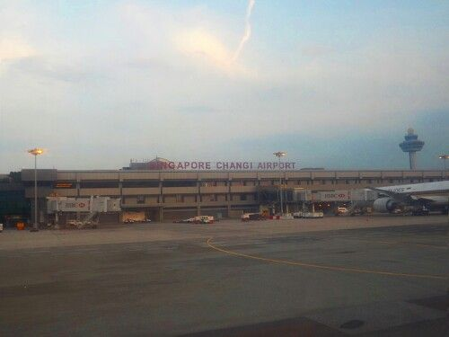 Changi Airport. #SingaporeTrip
