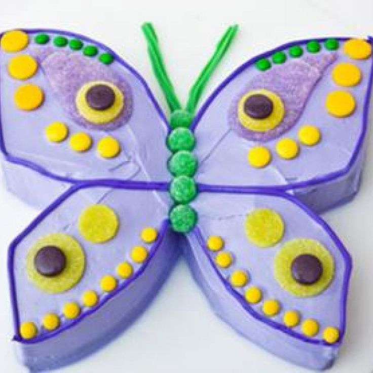 Best 25 Kids butterfly cake ideas on Pinterest Butterfly cakes