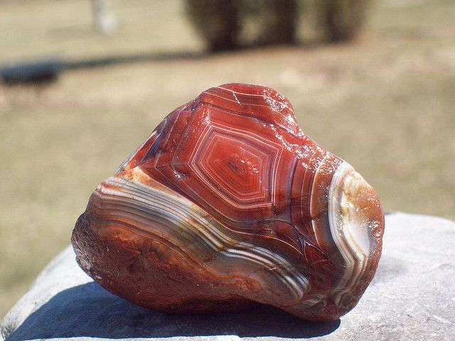 Lake Superior Agate (red laker gem) - Grandpa and Mom.  Thanks for teaching me to love these rocks and appreciate their beauty.
