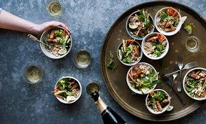 Anna Jones's party recipes for noodle bowls and dumplings | The modern cook | Life and style | The Guardian
