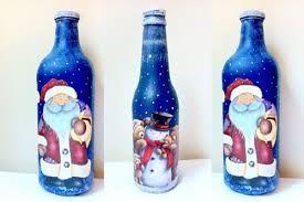 Resultado de imagen para garrafas decoradas                                                                                                                                                      Más