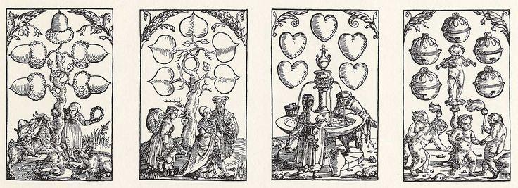 Artist: Flötner, Peter, Title: »Kartenspiel«, Fünfer, Date: ca. 1535