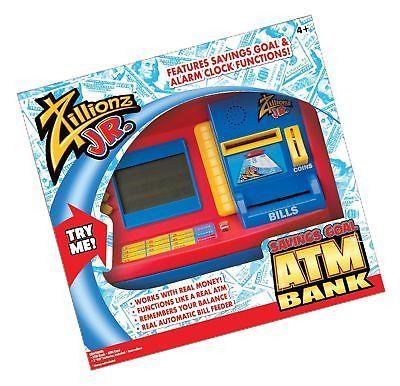 Zillionz Jr. Deluxe ATM Savings Bank Standard Packaging