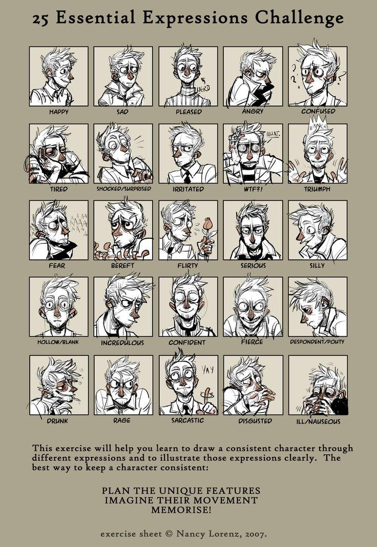 25 expression challenge by Kichaa