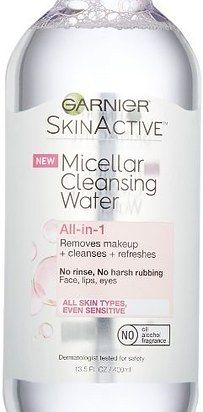 Get makeup off your face immediately by using cold cream cleanser or micellar cleansing water.