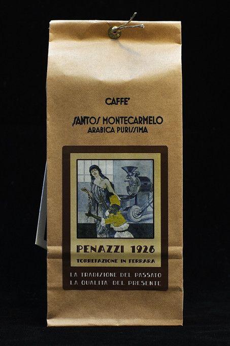 Santos Montecarmelo confezione da 250 g / Santos Montecarmelo 250 g  bag