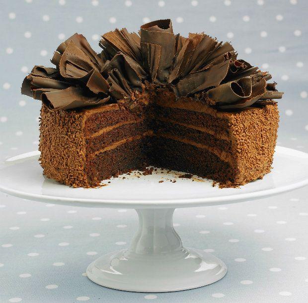 Nadýchaný čokoládový dort, Foto: isifa.com