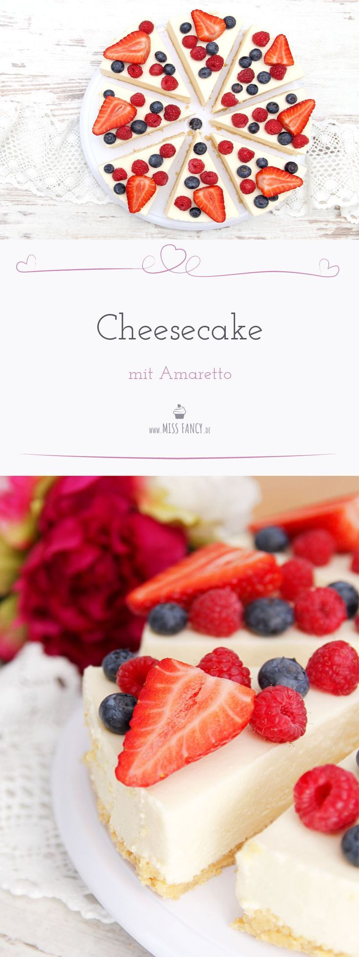 Amaretto Cheesecake - yummie