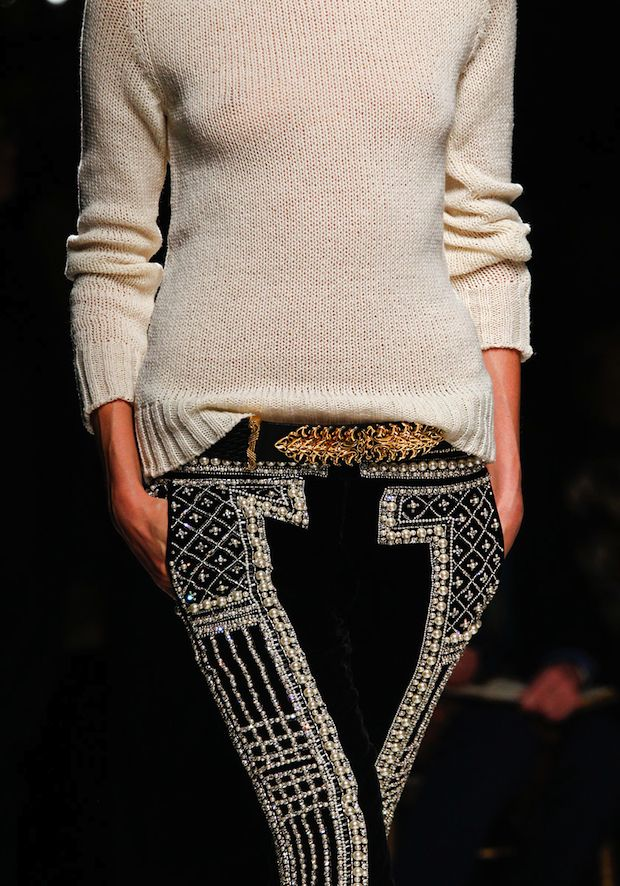 Balmain Fall 2012: Balmain Pant, Balmain Fall, Fashion, Inspiration, Style, Clothes, Pants, Fall 2012, Wear