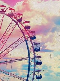 I've always wanted to be kissed on a ferris wheel :')
