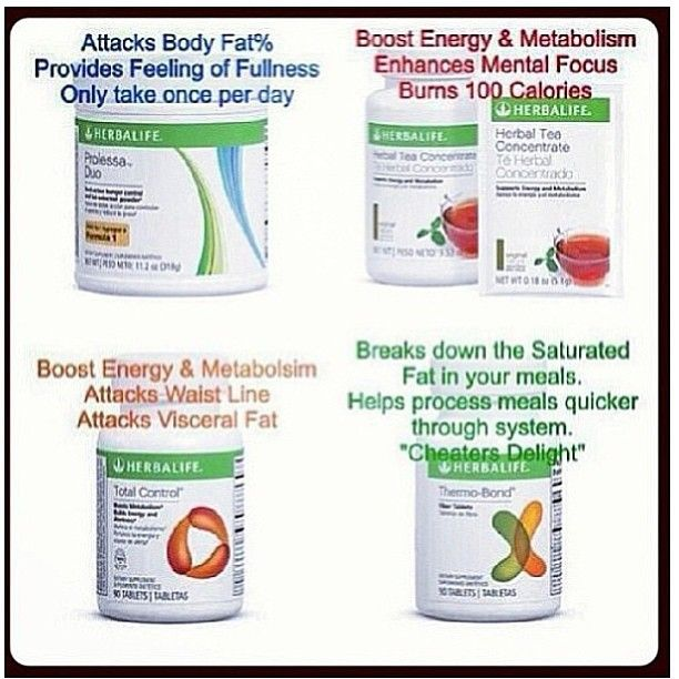 Just a few of my favorite #Herbalife products. You have the Tea boosting metabolism, Prolessa burning fat, Thermobond a cheat meals best friend, and Total Control everyone's favorite, helping that waistline, Not mentioned, but don't forget about Celluloss that gets rid of Excess water weight, them love handles, and cellulite. What are your favorite Products on your Nutrition Plan?