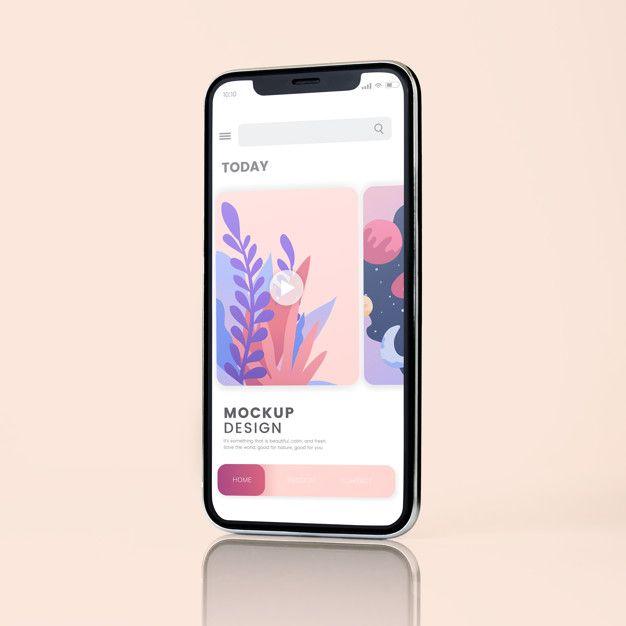 Download Freepik Graphic Resources For Everyone Mockup Design Phone Mockup Iphone Mockup